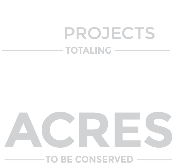 52 easement projects totaling 81,081 acres to be conserved.